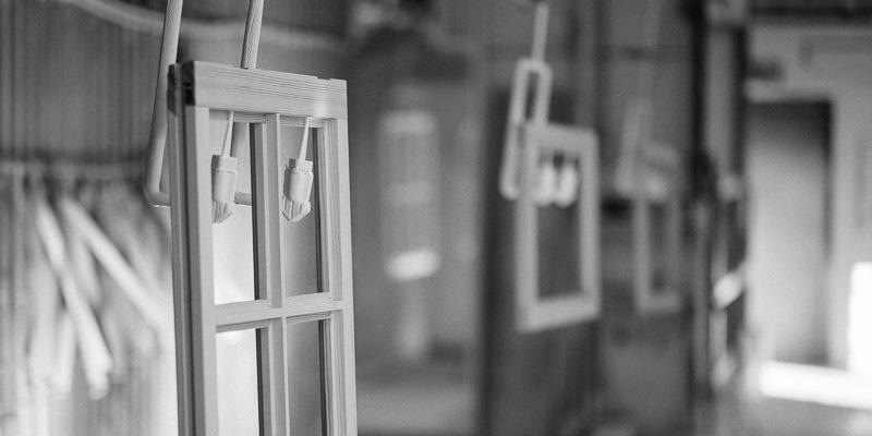 Lingbo historia - hängande fönster
